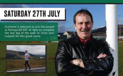 Neil Hutchings Memorial Walk in Aid of MacMillan